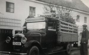 Ein alter LKW
